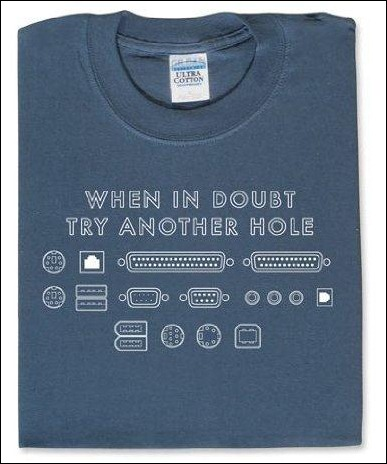 when-in-doubt-try-another-hole-t-shirt