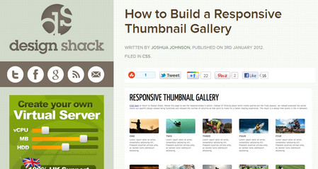 How to Build a Responsive Thumbnail Gallery