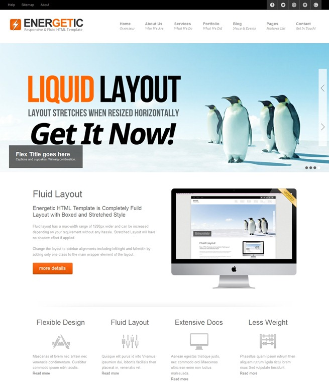 40 great responsive html website templates html5 responsive template maxwellsz