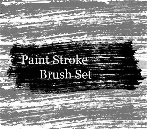 paint-stroke-brush-set