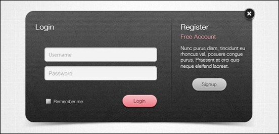 dark-login-psd