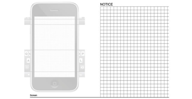 20 free printable sketching and wireframing templates iphone design sketchbook maxwellsz