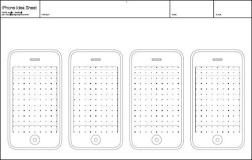 idea sheet template