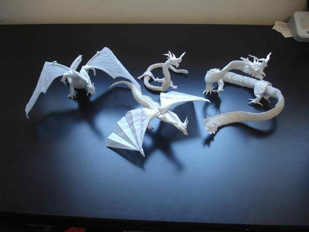 35 Amazing Examples of Origami Artworks - photo#30