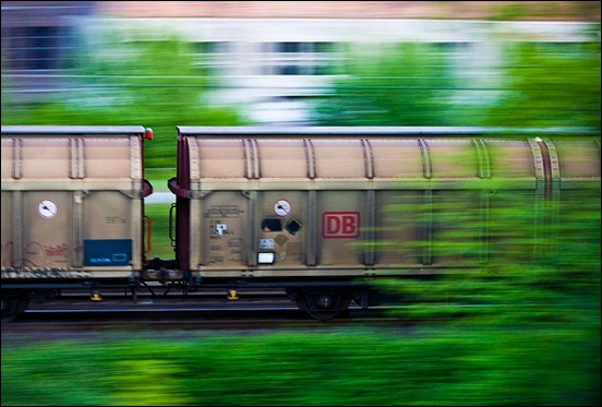 train-in-motion