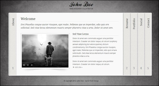 55 best vcard template selection for online cvs grey black is a professional online vcard template that is minimal and clean in design it will help you to create your very own virtual business card fbccfo Choice Image