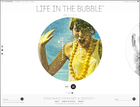 Lifeinthebubble