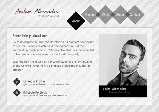 55 best vcard template selection for online cvs shuffle is a virtual business card template simple and easy to customize implemented using the latest standards powered by jquery brings nice flash like accmission Gallery