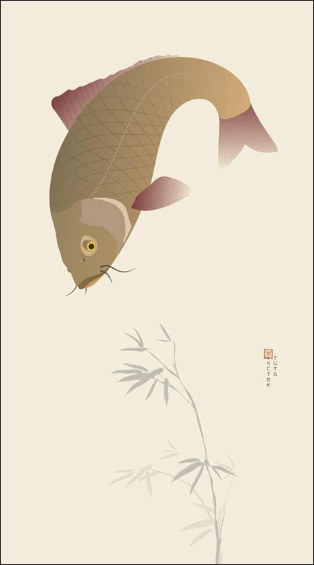 create-a-japanese-koi-carp-illustration