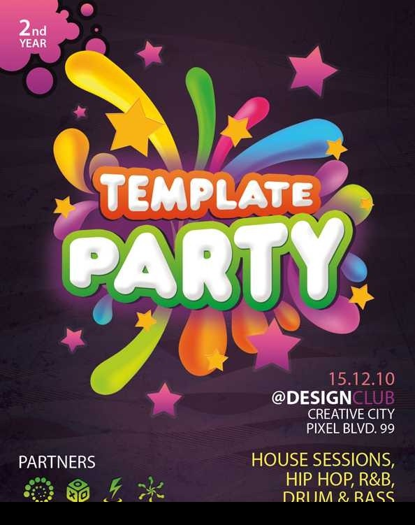 free psd flyer template by free psd files