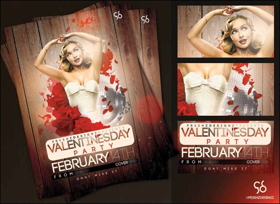 free-v'day-flyer-samples