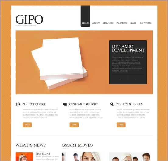 White-&-Orange-SEO-Website-Drupal-Theme