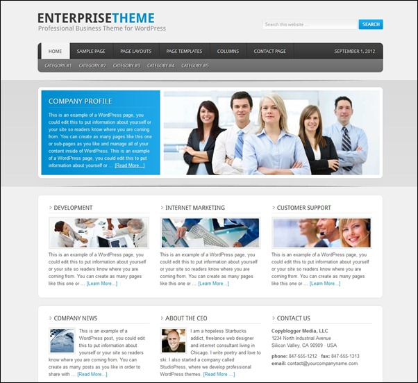 enterprise-theme