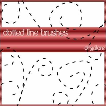 dotted-line-brushes