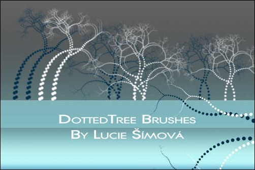 dotted-tree-brushes