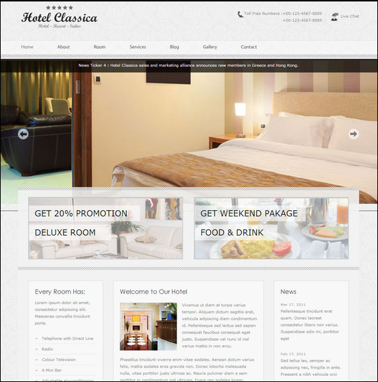 hotel-classica-clean-minimalist-wordpress-theme