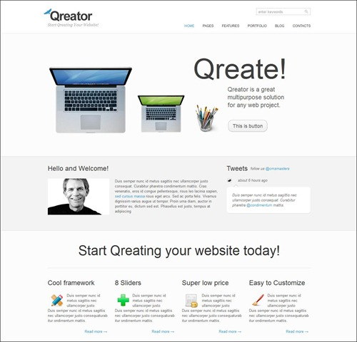 qreator-hml5-template