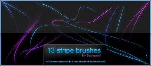 waved-striped-brushes