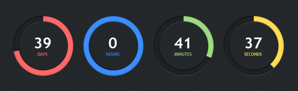 25+ Cool jQuery Countdown Scripts – Add Dynamic Timers!