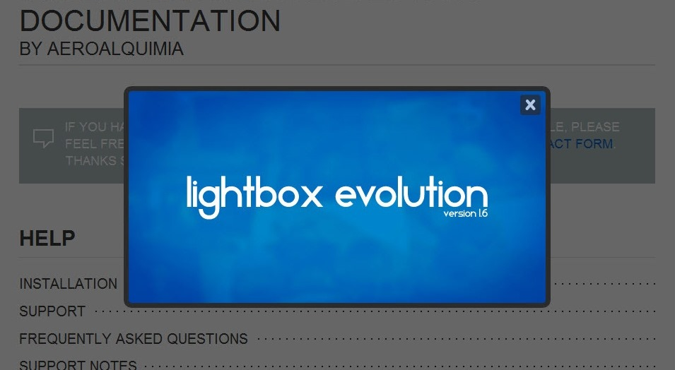 qjuery-lightbox-evolution