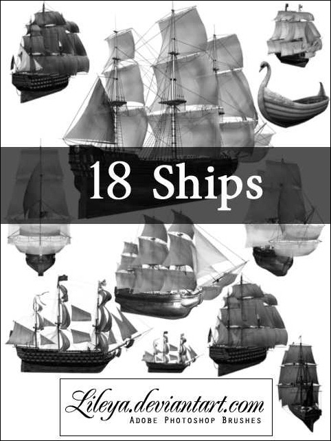 ships-brush-set