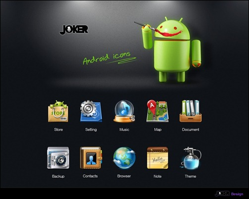 android-icon-set