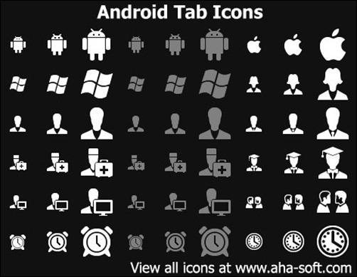 android-tab-icons