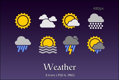android-weather-icons