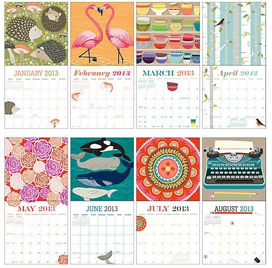 Monthly Calendar Design Creative : Creative calendar designs