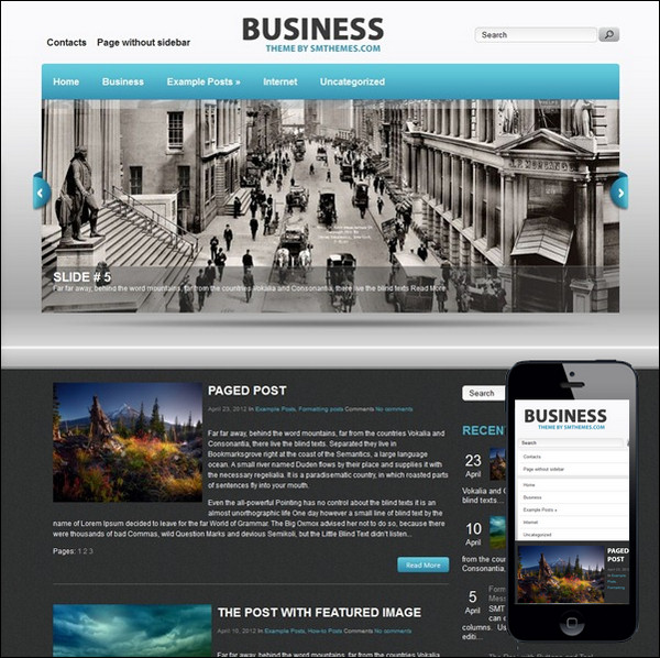 business-theme