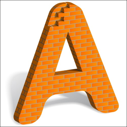 how-to-build-a-letter-art-from-bricks