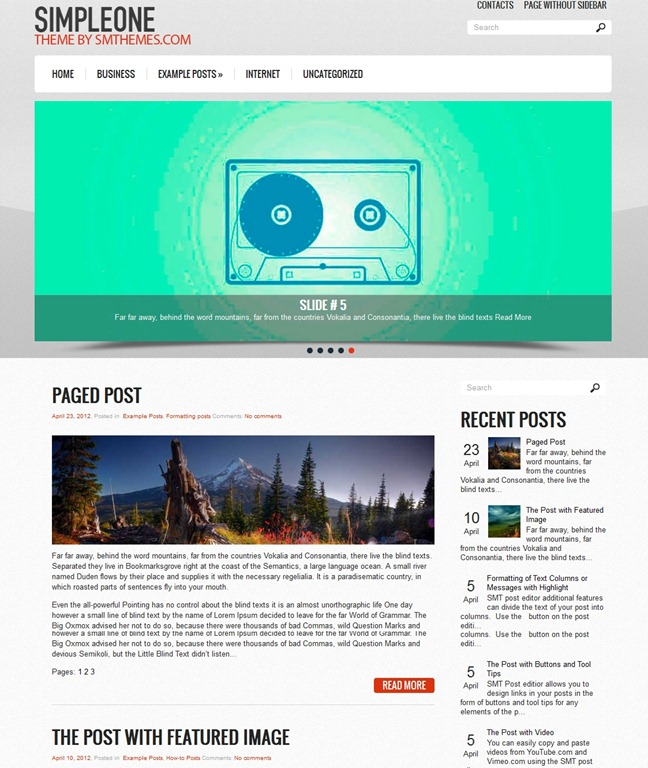 Gelato wordpress templates 4 share – Templates 4 Share
