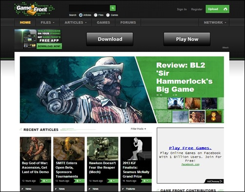 Game-Front-gaming-websites