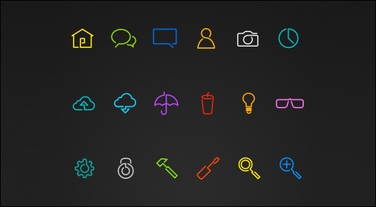 Line-Play-Vector-Icons