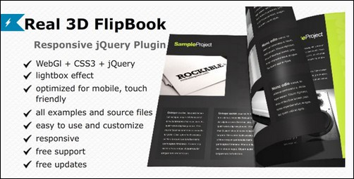 Real 3D FlipBook - jQuery Plugin
