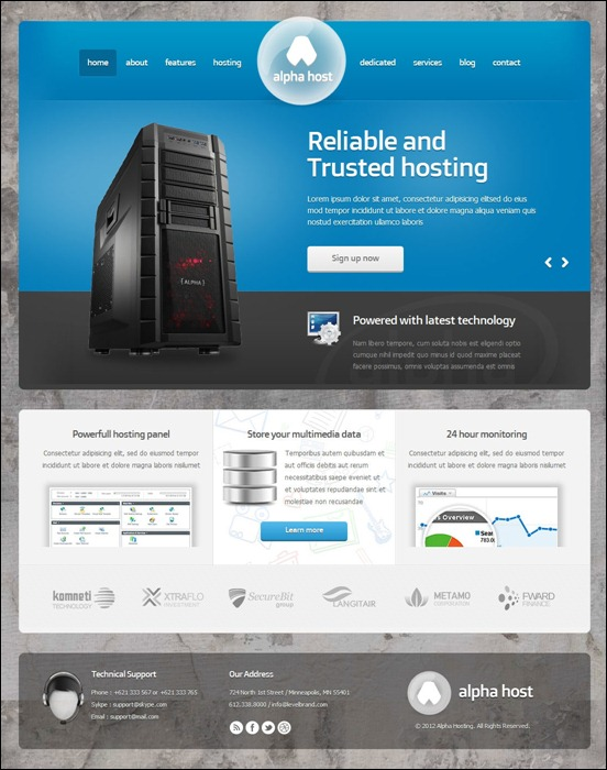 alpha-modern-hosting-template-