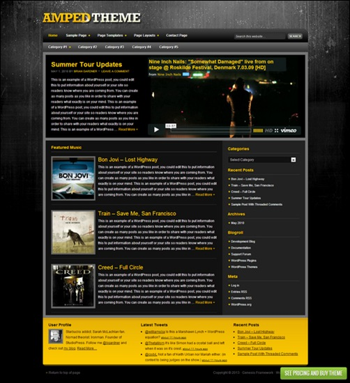 amped-child-dark-wordpress-theme
