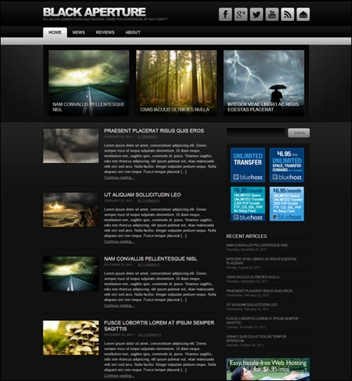 black-aperture-wordpress-theme