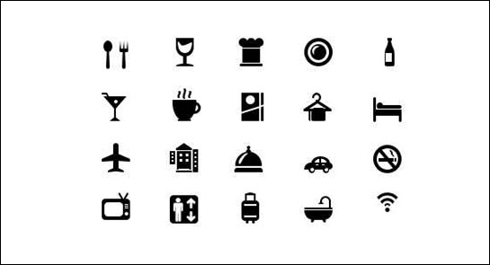 hotel-and-restaurant-icons