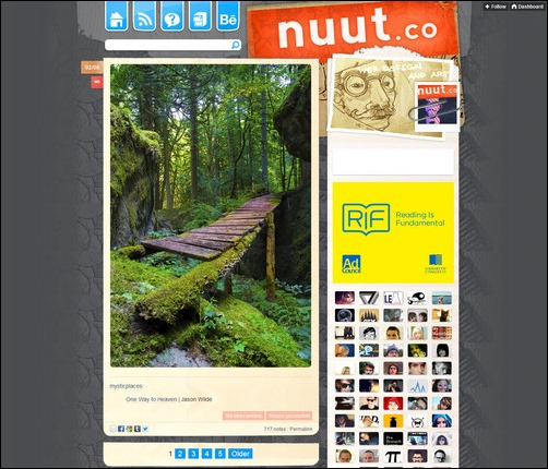 Nuut Creative Tumblr Blog Designs