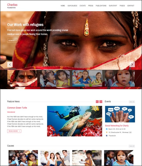 charitas-foundation-wordpress-theme
