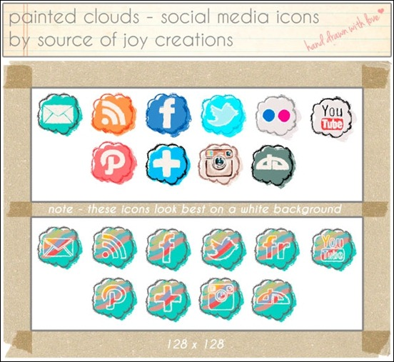 painted-clouds-social-media-icons-