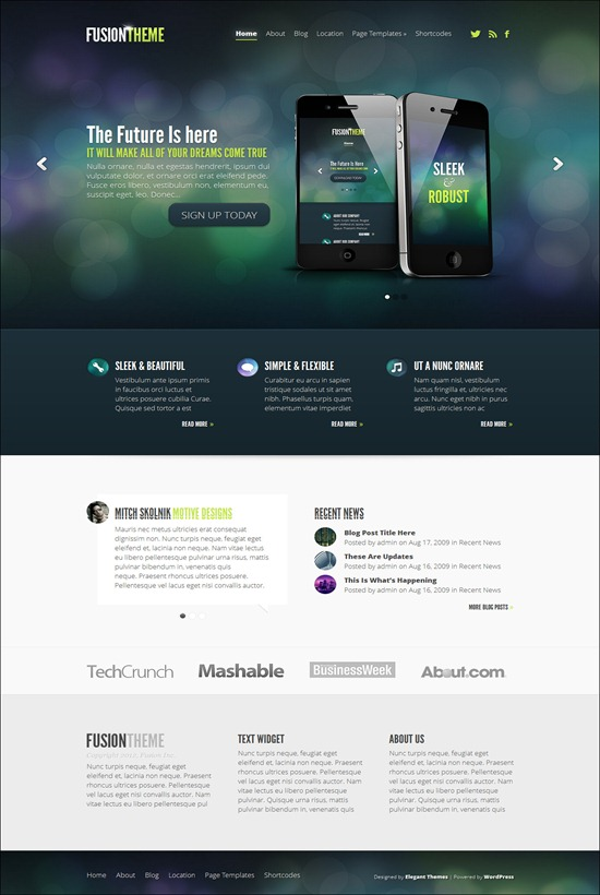 70+ Best HTML5 WordPress Themes - Want A Modern Website?