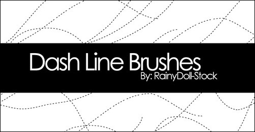 dash-line-brushes