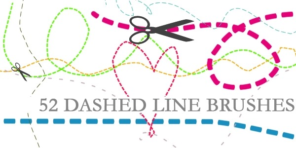 dashed line brushes 70 hottest photoshop line brushes get ready for 2017 Simple Wiring Diagrams at edmiracle.co