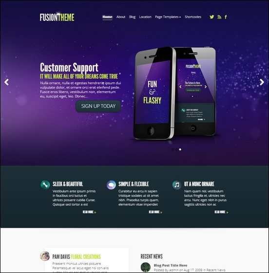 fusion-wordpress-theme
