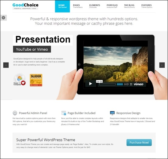 good-choice-responsive-multi-wordpress-theme