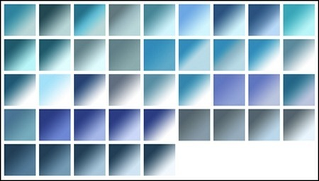 gradients-blues