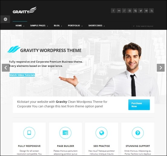 gravity-business-theme