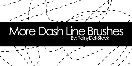 more-dash-line-brushes